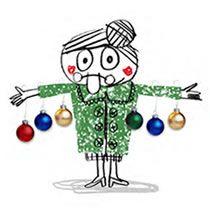 Ilustración editorial: ilugrafía adornos de Navidad para Ajuntament de Barcelona. Pesebre.