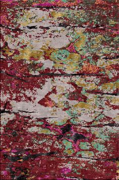 MWLL-1053- Parchment- Rust - IRREGULAR Collections - Matthew Wailes London - Bespoke Hand Knotted Carpets and Rugs