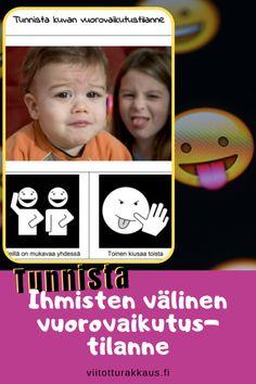 Ihmisten välinen vuorovaikutus - Viitottu Rakkaus Pre School, Emoji, Movies, Movie Posters, Kids, Toddlers, Young Children, Young Children, Boys