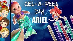 DIY Princess ARIEL Mermaid Fin Baby W Gel-A-Peel | Gelapeel How To Make ...