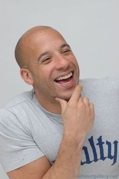 Vin Diesel makes my list because nothing bad is ever said about him, he treats his family like they are gold and strangers like human beings.  And there is something about a sweet bald guy.......