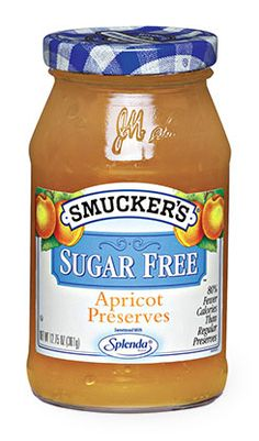 Great Apricot Preserve made with Splenda