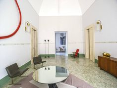 A home gallery in galantina italy