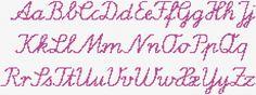 cross stitch alphabet patterns | dmc threads dimensions 231 x 86 stitches 1 colors cross stitch ...