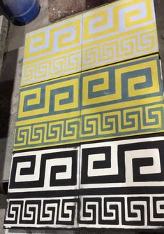 The handmade tiles of the Odysseas series are made by traditional technique. They can give a classic style or minimal mood to your place. All our designs can be made, on request, in any color you wish. Cement Tiles, Mosaic Tiles, Border Tiles, Room Tiles, Handmade Tiles, Greek Key, Classic Style, Minimal, Flooring