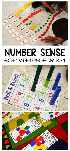 I love these hands-on number sense activities for kindergarten and first grade. … I love these hands-on number sense activities for kindergarten and first grade. Great for the beginning of the year Number Sense Activities, Numeracy Activities, Senses Activities, Kindergarten Activities, Kindergarten First Week, First Grade Activities, Montessori Activities, Preschool Learning, Teaching Math
