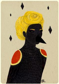 Blackbird byDiela Maharanie