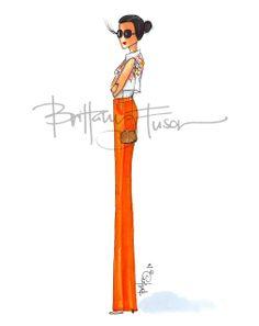 Statuesque [ brittanyfuson.blogspot.com ] #fashionillustration