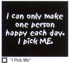 i pick me!