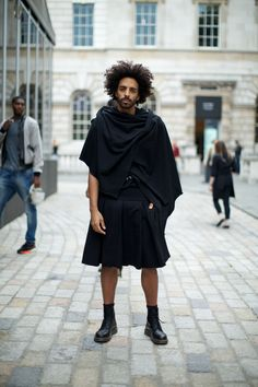 Street Style at London Fashion Week SS15. Photographs by Marcus Dawes for LFW The Daily THAT HAIR