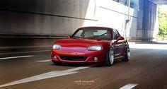 MazdaSpeed MSM Style Body Kit Fcking crazy about it. #miata #mx5 #nbfl #bodykit #msm