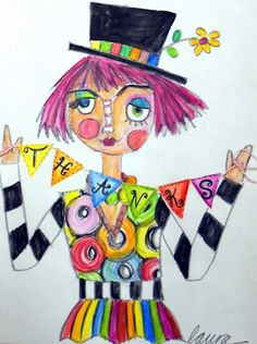 1000 Images About Clown Art Projects On Pinterest