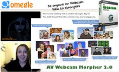 Anonymous Video Chat in Omegle with Webcam Morpher