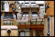 © 2012 Jody Fenton Photography  Exterior photos of Victor Horta Museum in Brussels, Belgium.