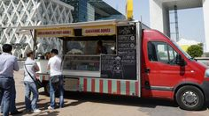 Le food truck Caravane Dorée.