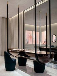 100 Best Interior Designers by Boca do Lobo and Coveted Magazine Retail Interior, Best Interior, Luxury Interior, Interior Architecture, Modern Interior, Interior Shop, Modern Luxury, Hanging Furniture, Lobby Furniture