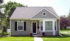 Prefabricated house or prefabricated house - Haus Design Prefabricated Houses, Prefab Homes, Style At Home, My House Plans, Bedroom Arrangement, Duplex House, American Houses, Steel House, Steel Structure