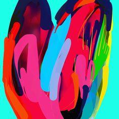 Valentines, Rainbow, Love, Artwork, Valentine's Day Diy, Rain Bow, Amor, Rainbows, Work Of Art