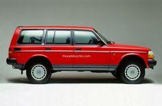 Volvo 245 XC90 side. Love it!