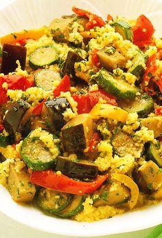 Ensalada de cuscús con hortalizas