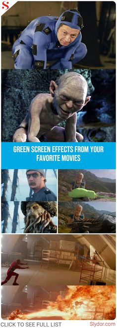 Incredible And Brilliant Green Screen Effects From Your Favorite Movies - Green Screen Photo, Hollywood, The Hobbit, Memes, Your Favorite, Behind The Scenes, Comedy, Funny Pictures, The Incredibles