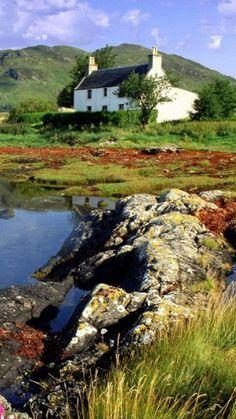 Dornie, Ross-shire, Highlands of Scotland