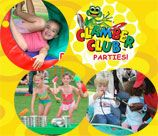 Clamber Club parties are filled with wholesome, healthy, happy fun filled activities to keep active children between the ages of 1-5 years old, entertained and busy for the whole time. We have a huge range of climbing and clambering equipment. We can either host your party at one of our venues or at yours.