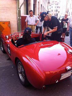 Siata in the Mille Miglia