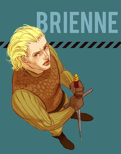 Brienne frowns on your BS by ~Pojypojy on deviantART Game Of Thrones Brienne, Brienne Of Tarth, Game Of Thrones Art, George Rr Martin Books, Children Of The Forest, Jaime And Brienne, Fanart, The North Remembers, King In The North