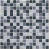 Afbeelding van Mozaïekmat 33 x 33 cm mix grijs 1 stuk