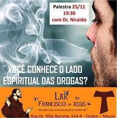 Lar Francisco de Assis Convida para a sua Palestra Pública – Centro – Macaé – RJ - http://www.agendaespiritabrasil.com.br/2015/11/25/17480/