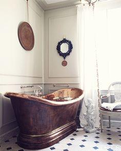 dustjacket attic: Interior Design | French Manor House