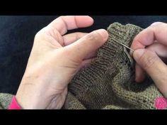 [vidéo] Finitions tricot: Comment rentrer les fils ?