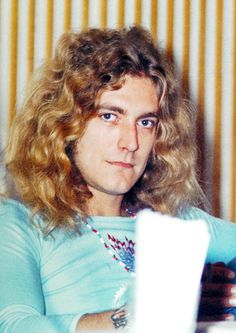 Robert Plant at a press conference in Tokyo, Japan, 1972.