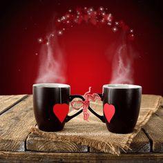 Imagen animada tazas de café con corazones. Esta es una muy bonita imagen gif de dos tazas con corazones animados, esta imagen está muy romántica precisa para regalar a nuestra pareja esta bonita m…