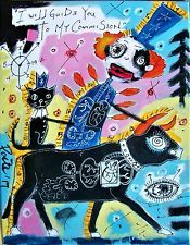 KING KITTY KAT, Poete Maudit, outsider art, brut naive, expressionism, CANADIAN