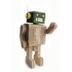 Robot Tito Green How's it going, carbon-based lifeform? They call me Robot Tito, and I'm kind-of a big deal on Planet ∏&Ò3Ř´†Â˚. I am constructed out of recycled Earthling materials such as cardboard, bolts and bottle-caps, and have come from the farthest reaches of outer space ISO a place on your mantle, dresser, bookshelf or nightstand.