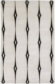 Candice Olson Luminous LMN-3002 Parchment Contemporary Rug