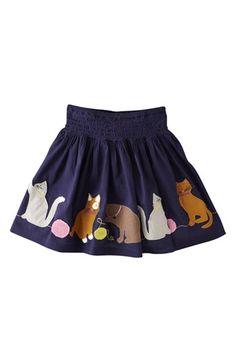 Mini Boden 'Decorative' Cotton Voile Skirt (Toddler Girls, Little Girls & Big Girls) | Nordstrom