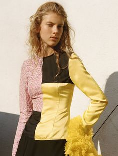 visual optimism; fashion editorials, shows, campaigns & more!: modern masters: ally ertel by zoë ghertner for uk vogue april 2015