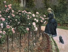 Rose in the Garden a Petit Gennevilliers, Renoir, Monet, Photo Rose, Les Artisans, Reproduction, French Artists, Les Oeuvres, 19th Century, Thats Not My