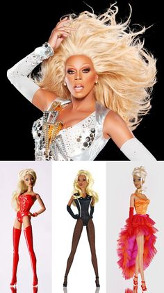 "Barbie Drag Queen"" RuPaul...what? I want one!!!"