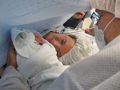 inspiring birth story - from natural to c-section.