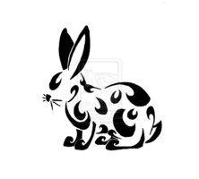 The Best Tribal Rabbit Tattoo Version
