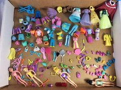 Lot Of 100+ Mattel Polly Pocket Disney Princess Dolls Clothes Shoes Accessories #Mattel #DollswithClothingAccessories