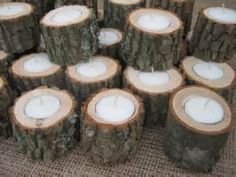 home made wedding wood