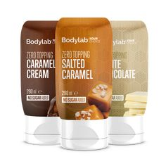 Bodylab Zero Topping ml) Milkshake, Smoothie, Caramel, Raspberry, Sugar, Snacks, Cream, Coffee, Drinks