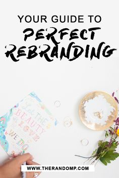So you have thouģht about rebranding, but... you don't know where to start? I have the perfect answers over here: http://therandomp.com/blog/guide-to-perfect-rebranding