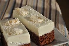 Prajitura de ciocolata cu crema de nuca de cocos | Retete culinare cu Laura Sava - Cele mai bune retete pentru intreaga familie Cheesecake, Pudding, Cooking, Mai, Sweet, Desserts, Food, Cakes, Coconut Cream