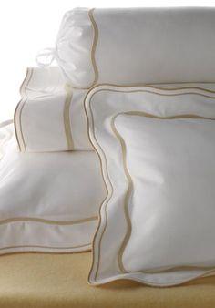 Léron | Graphique Collection | Bespoke Bed Linens